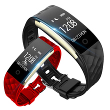 Bluetooth 4.0 Смарт-часы Фитнес heartrate Мониторы браслет для IOS Android Перевозка груза падения
