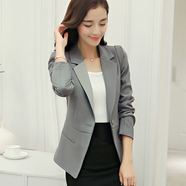 Women Clothes Business Suits Dress Banquet Elite Sleeves It Slim Coat Jackettop Coatblouseblouson