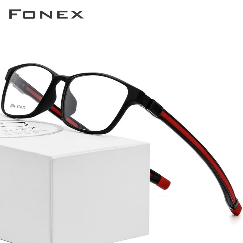 Adjustable Optical Glasses Frame Men 2018 TR90 Magnet Sports Square Hanging Neck Magnetic Prescription Eyeglasses Myopia Eyewear