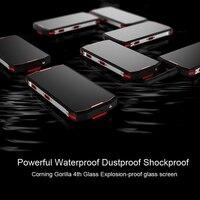 """מכשיר הקשר כיבוש S12 Rugged Smartphone 5.99"""" FHD מסך 8.1 אנדרואיד MTK6763 אוקטה Core 6GB RAM 128GB ROM 4G Waterproof מכשיר הקשר NFC (2)"""
