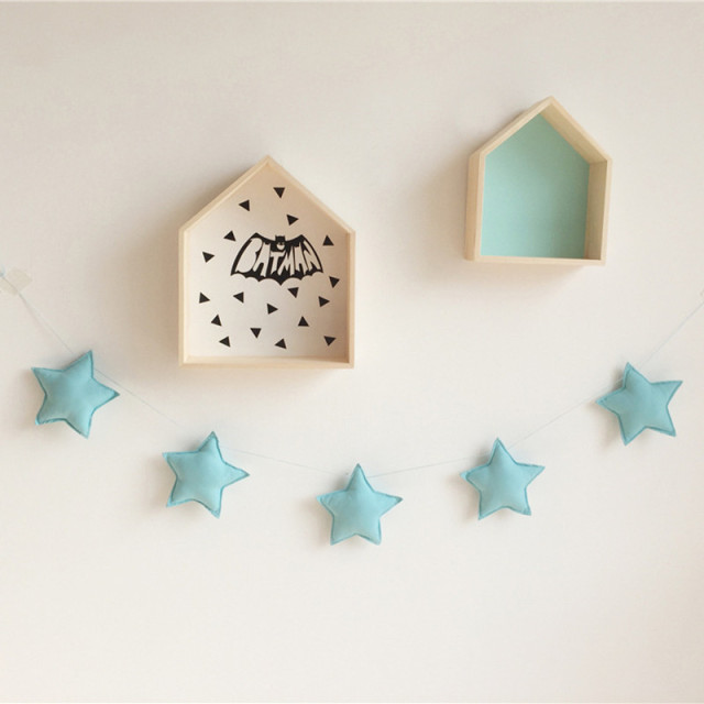 Nordic 5 Stars Toys Decoration for Baby Kids Room