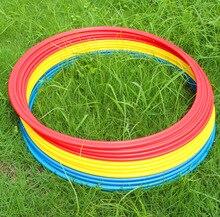 40/50cm 12piece mix color diameter Football training ring training ring physical speed training ring agility circle Wholesale