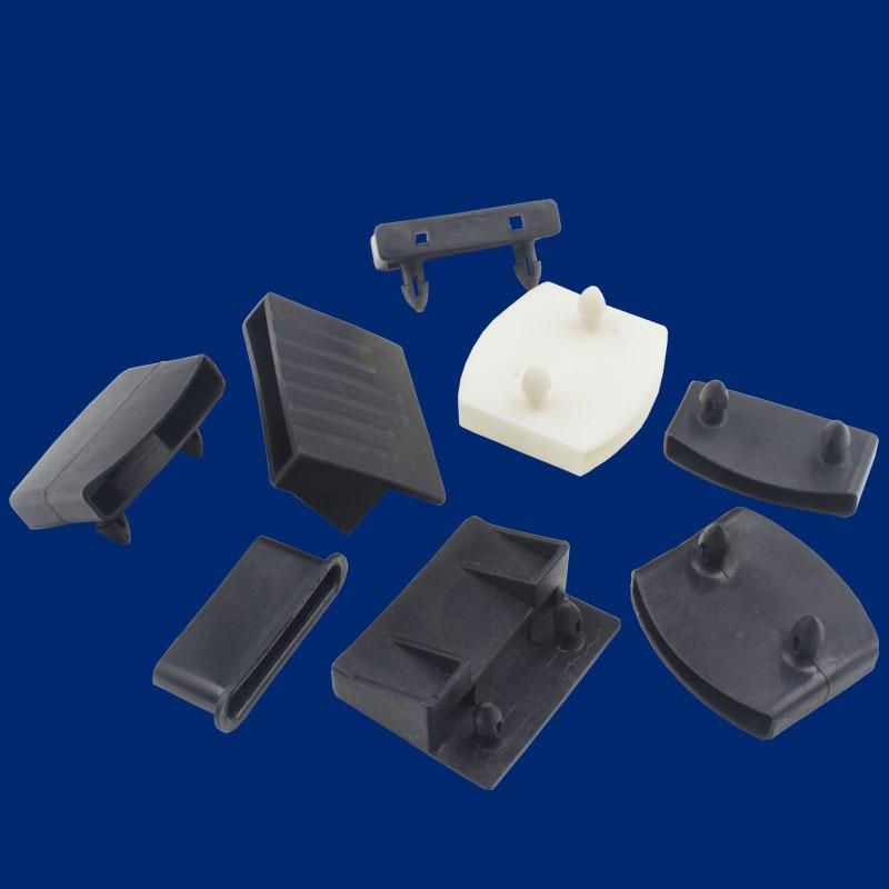 2pcs Plastic Holder Of Wooden Wood Slats Holder Buckle 25mm X55mm Wooden Slats Connector For Nursing Beds Furniture Hardware