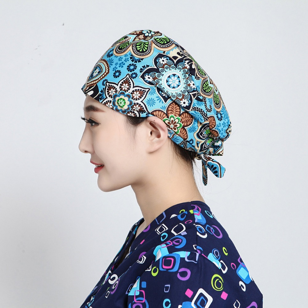 100% Cotton Pattern Print Medical Cap Surgical Scrub Caps Doctors Nurses Workwear Cap Dental Clinic Beauty Salon Caps Pirate Hat Without Return Work Wear & Uniforms Back To Search Resultsnovelty & Special Use