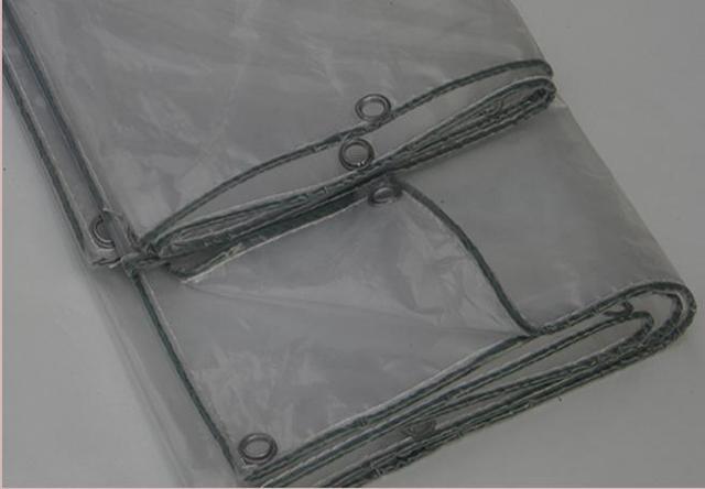 Personalizar 3 m X 4 m transparente al aire libre cubierta de tela, lona impermeable, 60% lona lluvia transparente. invernadero tela. transluce