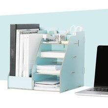 Wooden Multi-Use Desk Organizer