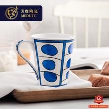 Love Horse Exotic Blue Fine Bone China Coffee Mug Milk Tea and Cup Drinkware  Cups Free Shipping