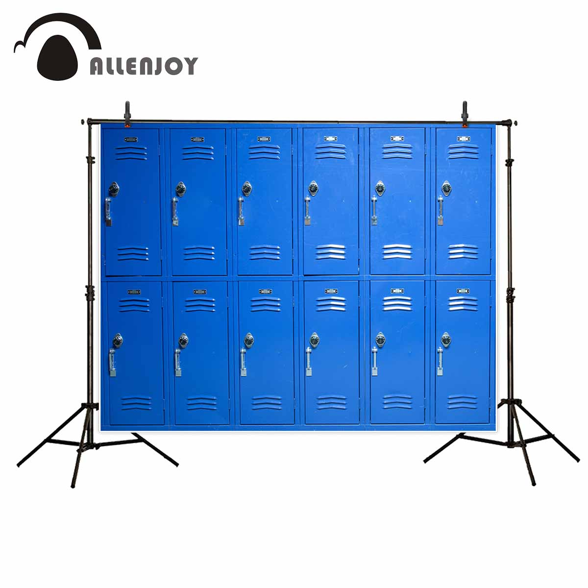 Allenjoy photography backdrops Blue lockers school backdrop photographic background photocall child photography allenjoy photography backdrops library bookshelf school student study room books photocall baby shower