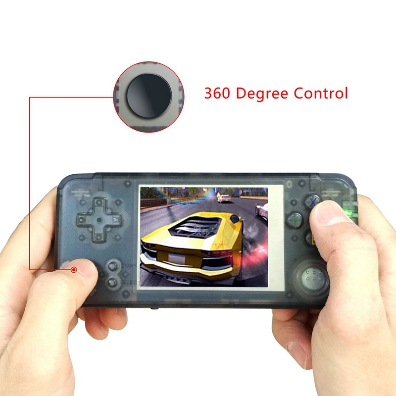 Image 3 - Powkiddy Retro Handheld Game Console 16GB 3inch Portable Mini Video Gaming Players Built in 3000 Games With 360 Degree Control-in Handheld Game Players from Consumer Electronics