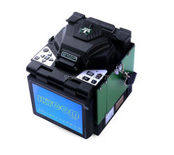 Skycom T-208H Automatic Heating FTTH Fiber Optic Splicing Machine Optical Fiber Fusion Splicer