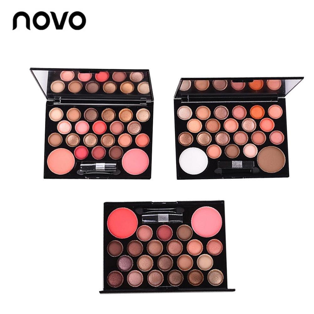 Novo 20 Colors Eyeshadow + 2 Colors Contour Combination ...