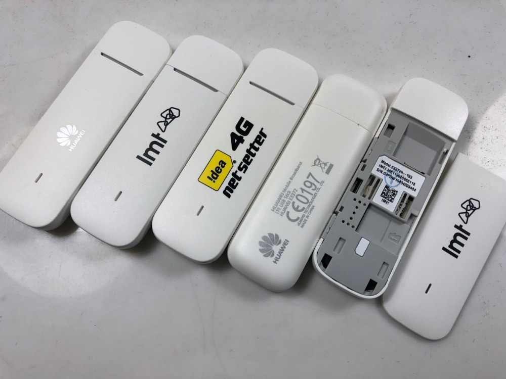 Unlocked Huawei E3372 E3372h-153 4G LTE USB Dongle USB Stick Datacard  Mobile Broadband USB Modems 4G Modem E3372s-153 E3372h-607
