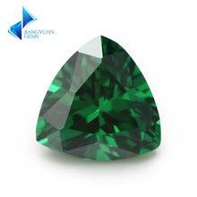 3x3 ~ 10х10 Трлн формы aaaaa камни из фианита Зеленые искусственные
