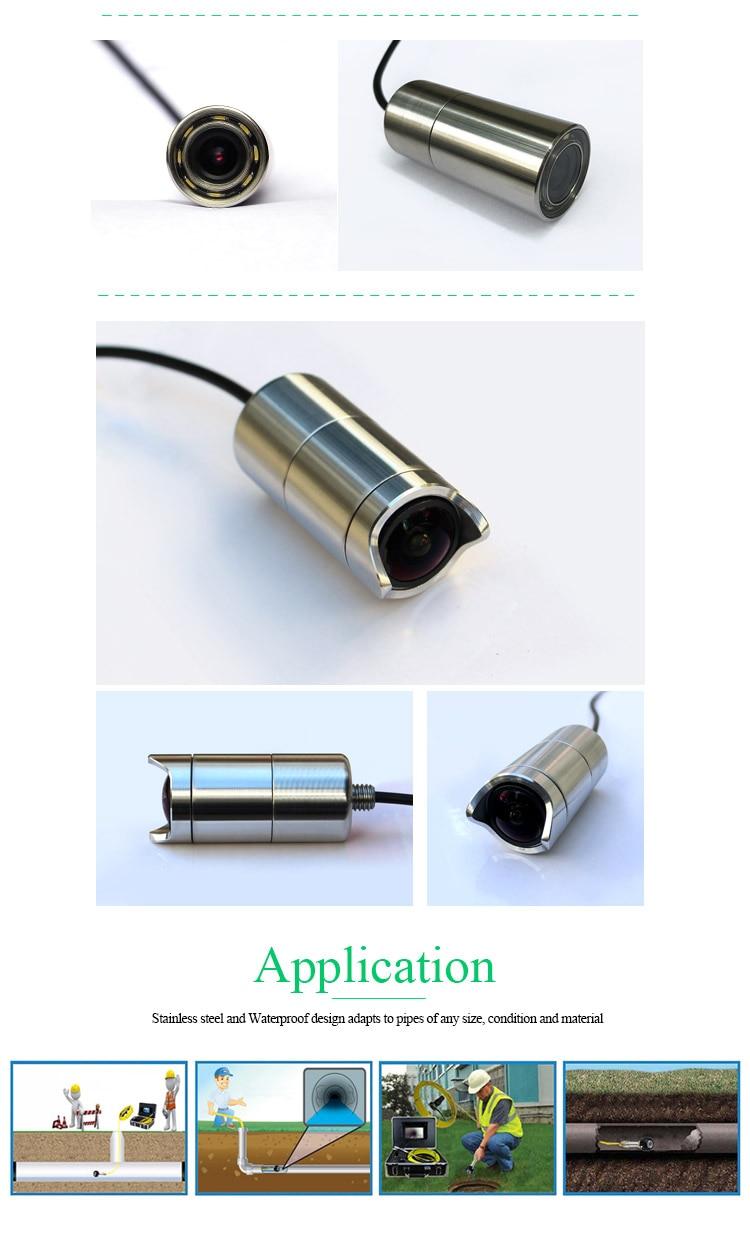 Ультра низкий светильник 0.0001Lux Гибридный подводный глубокий хорошо используемый канализационный Инспекционная камера для камеры видеонаблюдения