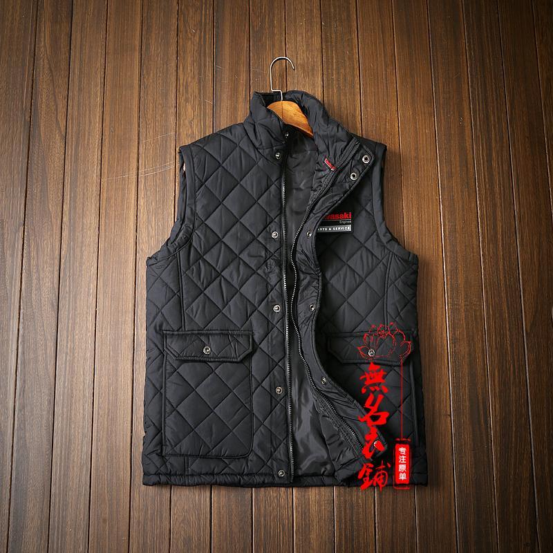 2018 Herbst Winter Männer Weste Sleeveless Jacke Wasserdicht Outwear Beiläufige Weste Männer Baumwolle Gefütterte Dünne Männer Weste Größe L-xl GüNstige VerkäUfe