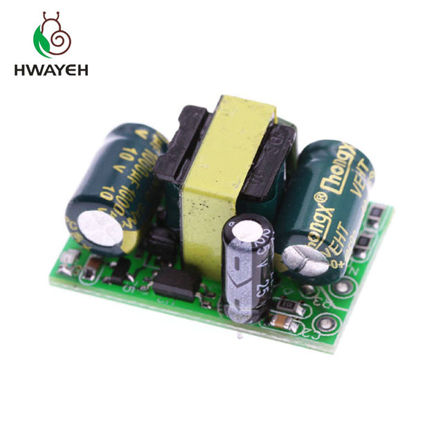 AC DC 110V 220V to 3.3V 700mA 2.3W Switching Switch Power Supply Buck Converter Regulated Step Down Voltage Regulator Module