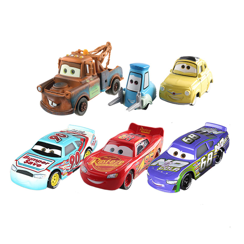 Disney children Cars 3 hotwheels 1:55 pixar cars kids toys jackson storm Car model rayo  ...