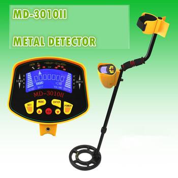Profesjonalny podziemny wykrywacz metali MD3010II poszukiwacz skarbów Gold Digger MD-3010II wyświetlacz LCD wysoka czułość szuka narzędzia tanie i dobre opinie Tekpoint Obróbka metali Zasilany baterią Six 1 5-volt AA alkaline batteries (not included) Standby 40 mA Max 110 mA