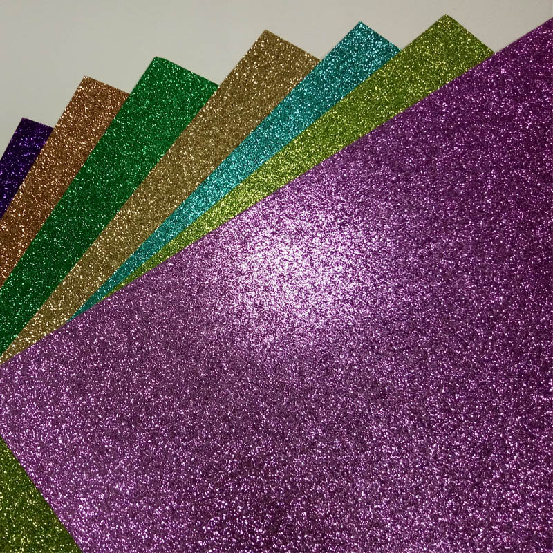 glitter paper 750pcs for paper crafting
