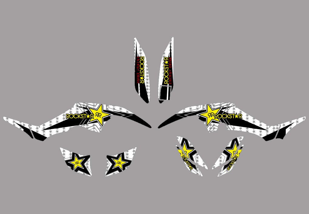 New Style DECALS STICKERS Graphics For Yamaha RAPTOR 350
