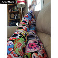 SexeMara The Day Of The Dead Leggings Women Digital Printed Pants  Fitness Casual Fashion Elastic Leggings S M L XL X-017