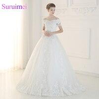China Bridal Gowns Vestido De Novia Fotos Reales 2017 Off The Shoulders Ball Gown Wedding Dresses