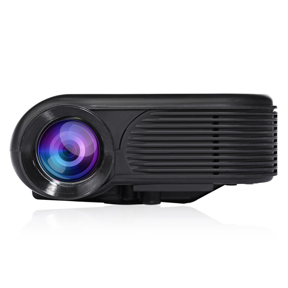 Origianl Prafector Black H86 LCD Projector 180 Lumens 640 x 480 Pixels 1080P Home Theater And Outdoor Theater