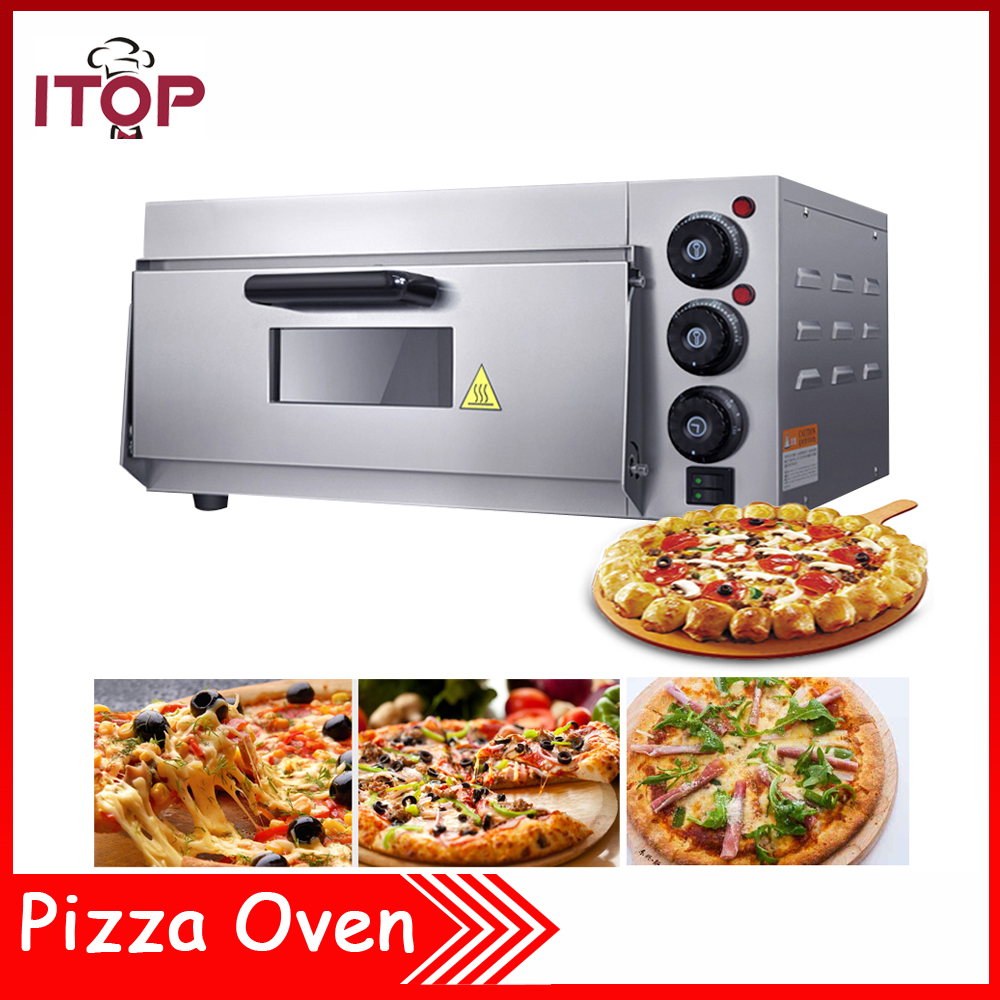 Technic Electric Oven Timer ~ Itop pizza oven kw commercial electric single