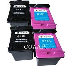 4 шт черные/цветные чернила для принтера hp envy 4500 4501 4502