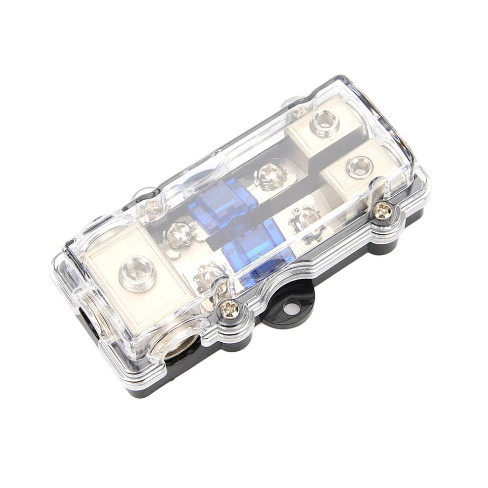 2 types Car Stereo Audio Power Fuse Box Waterproof Blade Fuse Holder Block  High Performance Auto Boat Fuse Box For Car-in Car Switches & Relays from  ...