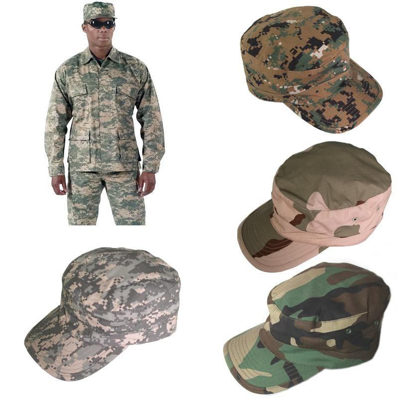 Military Hats tactical many colors kepi outdoor army Camouflage Hiking Caps  10 color 52ab63f3f37