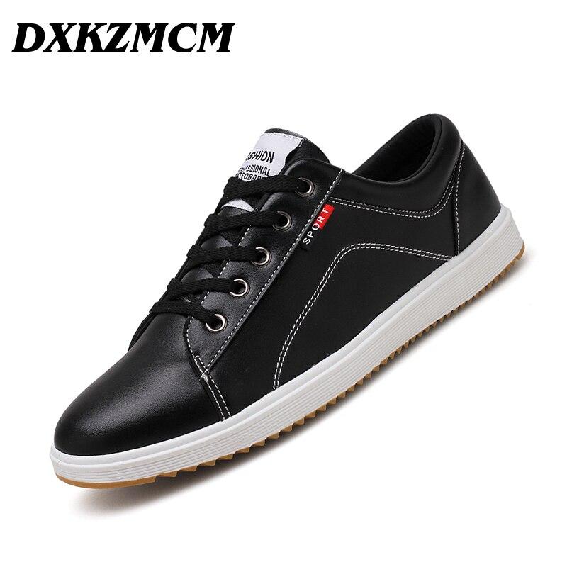 DXKZMCM 2018 Fashion Shoes Men Sneakers Comfortable Mens Casual Shoes Male Flats