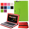 """Folio Book Leather Case Cover (With Keyboard Case) For ASUS Transformer BOOK T200TA T200 11.6"""" Tablet PC"""