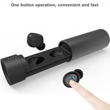 True wireless bluetooth headset Sports Earphones Stereo Earbuds With Charging Box Mic Handsfree for Xiaomi Smartphone