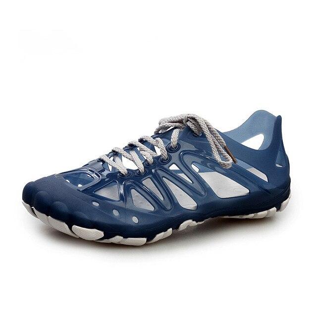 Aleader 2016 Мужские Сандалии Летние Дышащая Обувь Повседневная Мужская Обувь Пляжные Сандалии Спортивные Рыболовные Обувь Zapatos masculino