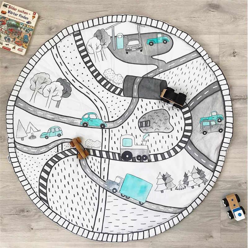 Фото Детский игровой коврик игрушки для детский пазлы ковры ползания пола декор