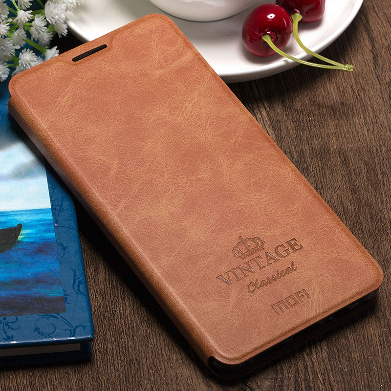 b79128c72fd OnePlus 3 Luxury Original PU leather Flip Case Vintage Cover Case for OnePlus  3 Slim Case with Card Slot Stand fundas Capa Case-in Flip Cases from ...