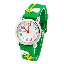 Imperméable Enfant Montres girafe Enfants Silicone Montres Marque Quartz Montre-Bracelet Bébé Pour Filles Garçons Mode Casual Reloj