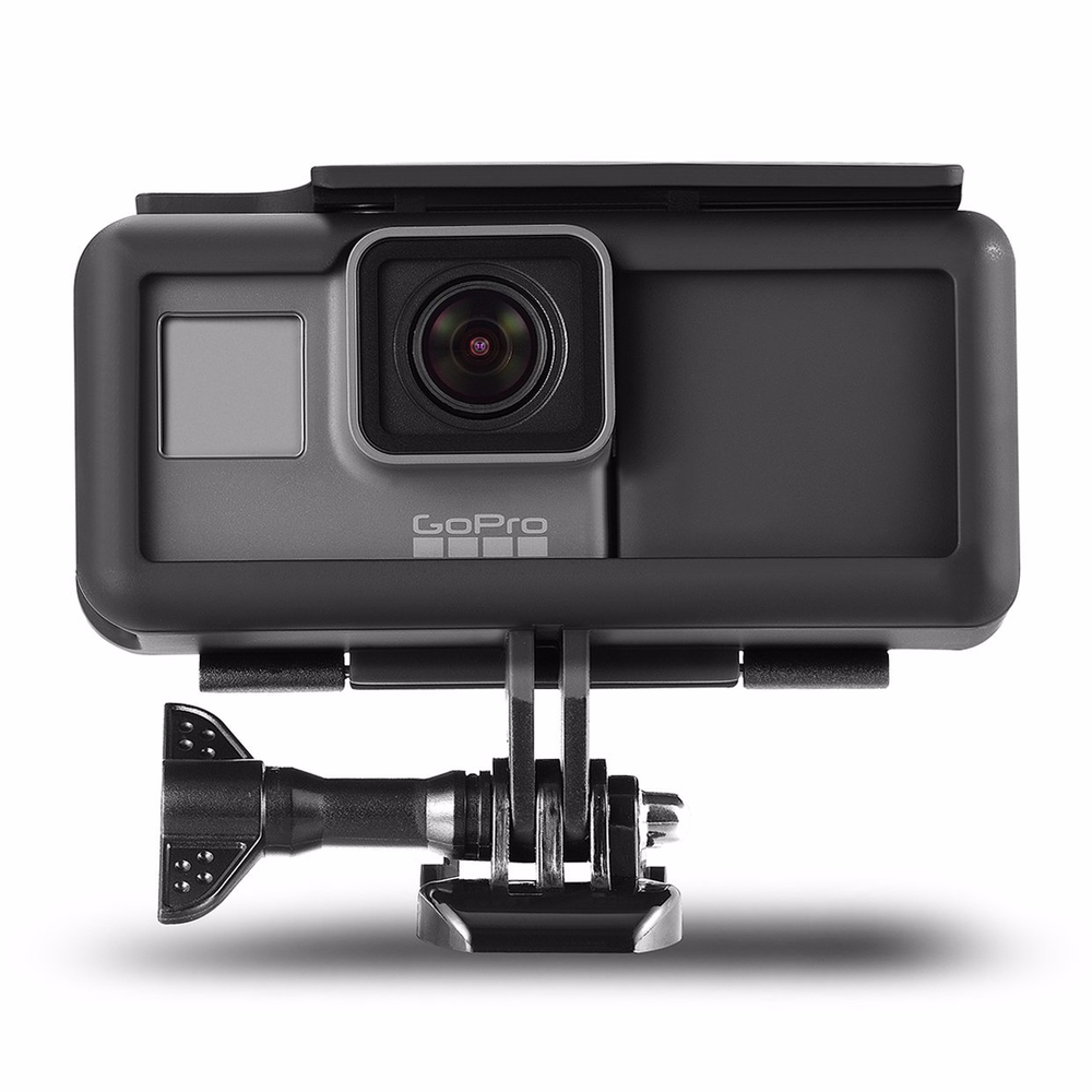Image 2 - FeoconT Shockproof Protective Frame Housing Case Side Power Bank For GoPro Here 5 Hero 6 Black Extended Battery Type C interface-in Sports Camcorder Cases from Consumer Electronics