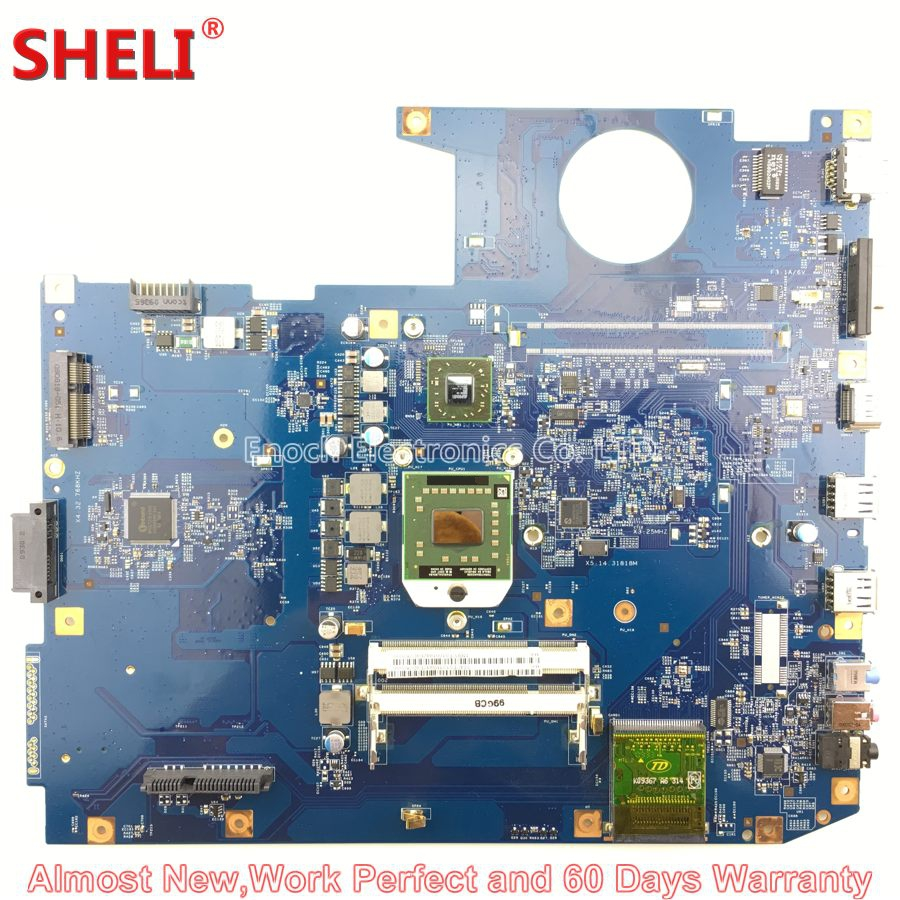 SHELI MBPCF01001 MB.PCF01.001 Laptop Motherboard For Acer Aspire 7535 7535G 7735 7735G 08225-2 JM70-PU 48.4CE01.021 Free CPU car armrest central store content storage box for audi a6 c5 1998 1999 2000 2001 2002 2003 2004 2005auto center console armrests