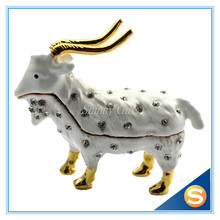 Goat Sheep Trinket Box Animal Jewelry Box Wholesales Home Decoration box small gadget
