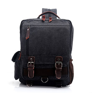 Купить Men Male Canvas Backpack Brown Casual Rucksacks man Laptop Backpacks College Student School Backpack Women Mochila в Москве и СПБ с доставкой недорого