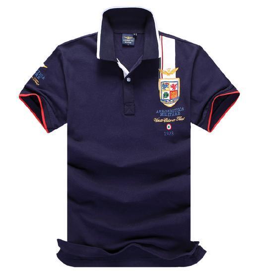 Высокое качество 2016 новый мужской рубашки поло мужская мода Повседневная коротким рукавом поло 100% хлопок свободный корабль