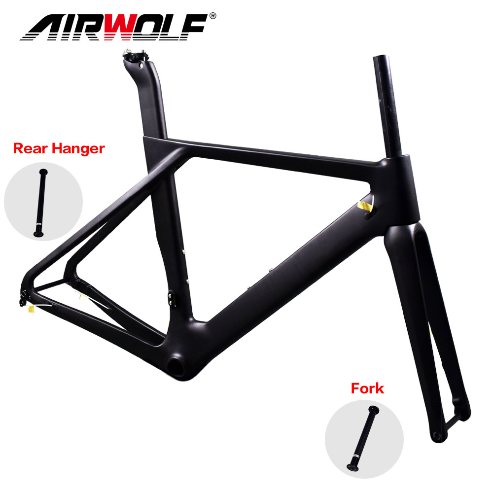 Newest carbon road disc frame avaliable size 49 52 54 56cm max tyre 32C Bicicleta Carbon