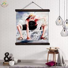 Позитивная Аниме Картина с прокруткой Современная фотокартина