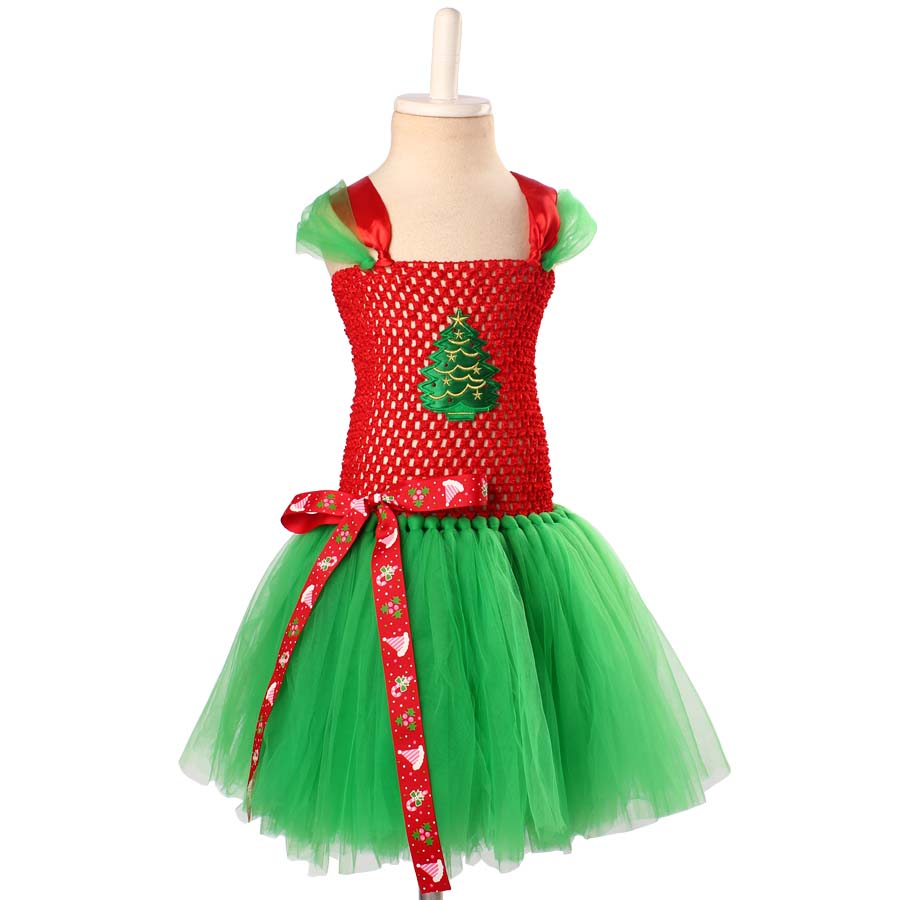 ed65c076a78b Christmas Costumes for Girls Baby Girl Holiday Dresses Fashion Kids  Festival clothing Children Red Green Santa Claus Dress TS142 |  Soaringhawkonestopshop