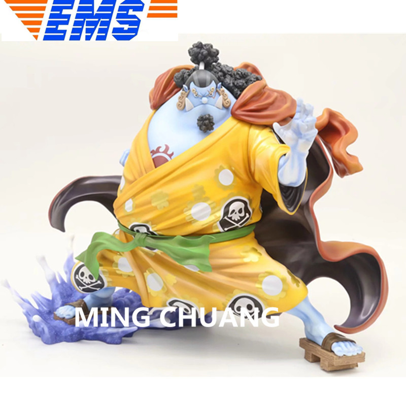 ONE PIECE Statue Jinbe Seven Warlords Of The Sea Full-Length Portrait PVC 25CM Action Figure Collectible Model Toy BOX Z82 11 statueone piece seven warlords of the sea sitting jinbe bust gk action figure collectible model toy box d621