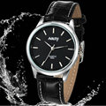 New quartz watch couple business casual student men and women simple retro belt
