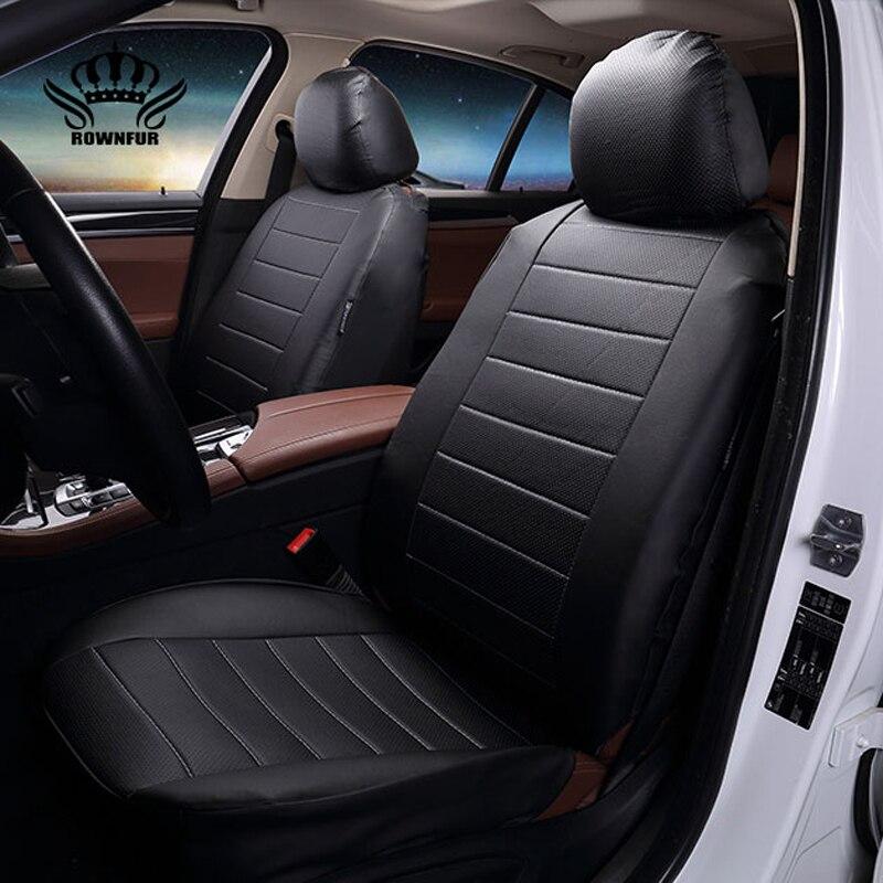 De luxe En Cuir PU Auto Universel 4 couleur De Voiture Housse de Siège Automobile, siège de voiture couvre pour voiture lada granta pour voiture lifan x60 en 2017
