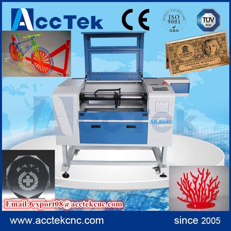 Co2 Laser Engraving Machine/ Mini Laser Engraver 6040/ Acrylic Laser Engraving Cutting Machine